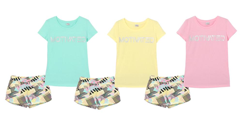 Комплект женский (футболка, шорты) FSXW 90004