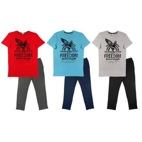 Комплект мужской (футболка, брюки) MS 9114