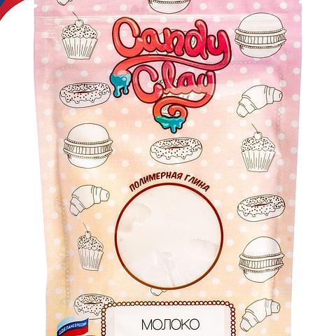 Масса для лепки Candy Clay. Полимерная кондитерская глина, молоко, 100гр 01-0201