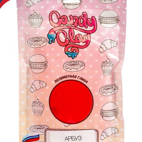 Масса для лепки Candy Clay. Полимерная кондитерская глина , арбуз, 100гр 01-0211