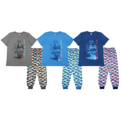Пижама для мальчика (футболка, брюки) CAJ 5333