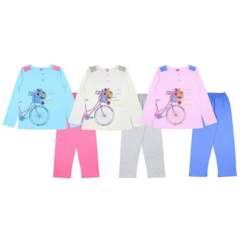 Пижама для девочки CAJ 5366