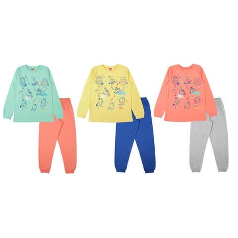 Пижама для девочки CAJ 5385