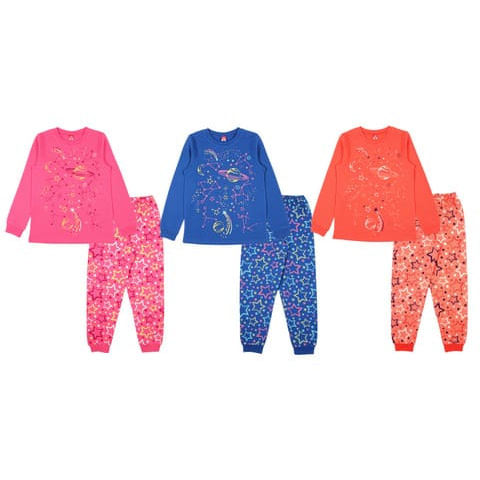 Пижама для девочки CAJ 5387
