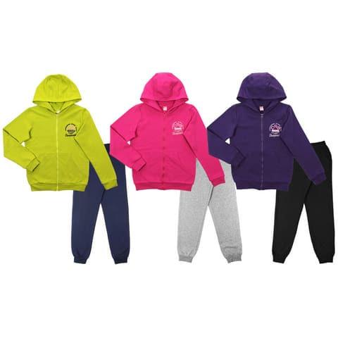 Костюм для девочки (куртка, брюки) CAJ 9654