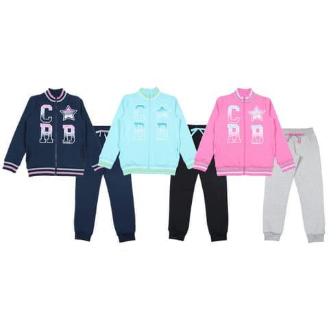 Костюм для девочки (куртка, брюки) CAJ 9749