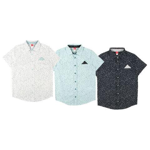 Рубашка для мальчика CAJB 62726
