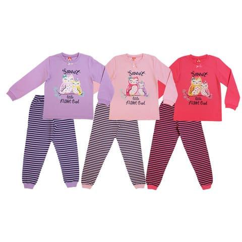 Пижама для девочки CAK 5311