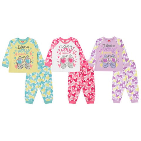 Пижама для девочки CAK 5378