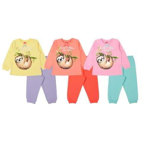 Пижама для девочки CAK 5379