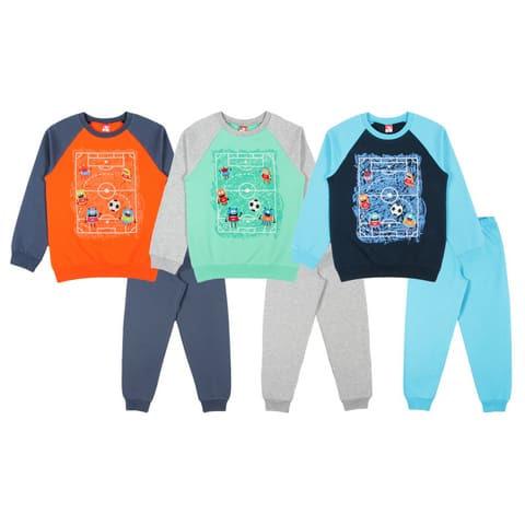 Пижама для мальчика CAK 5395