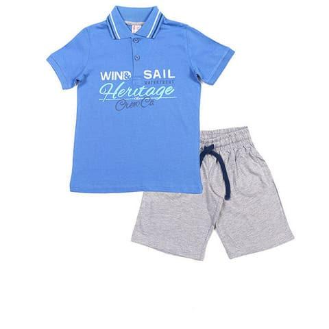 Комплект для мальчика (рубашка-поло, шорты) CAK 9497