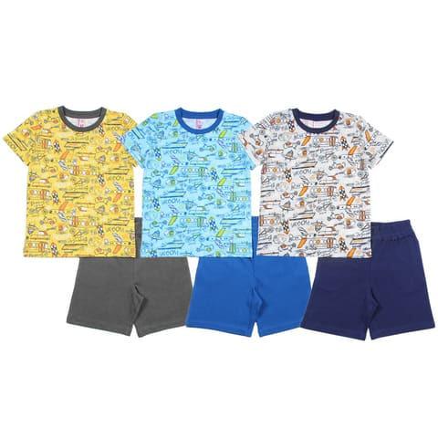Комплект для мальчика (футболка, шорты) CAK 9666