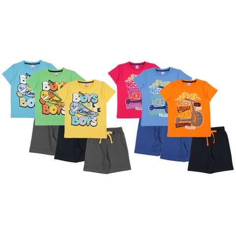 Комплект для мальчика (футболка, шорты) CAK 9747