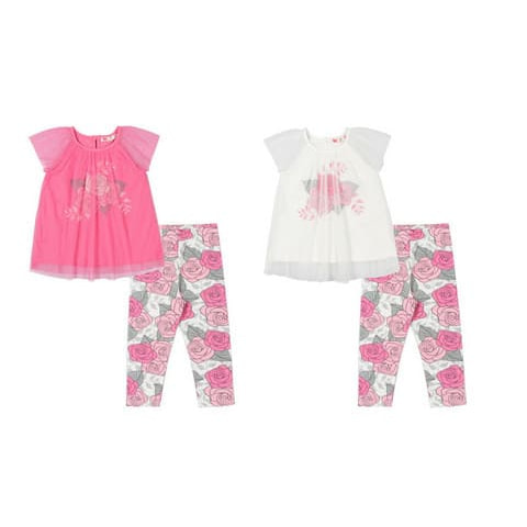 """Комплект для девочки (платье типа """"туника"""", брюки типа """"лосины"""") CAK 9816"""