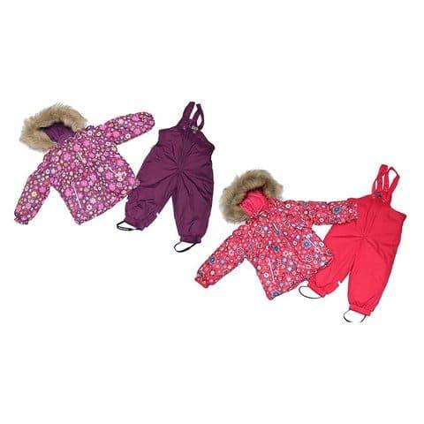 Комплект для девочки (куртка, полукомбинезон) CB 9C001