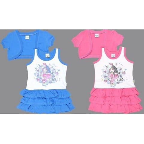 Комплект для девочки (сарафан, болеро) CSB 9198