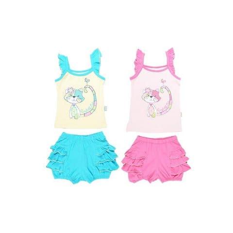 Комплект для девочки (топ, шорты) CSB 9199