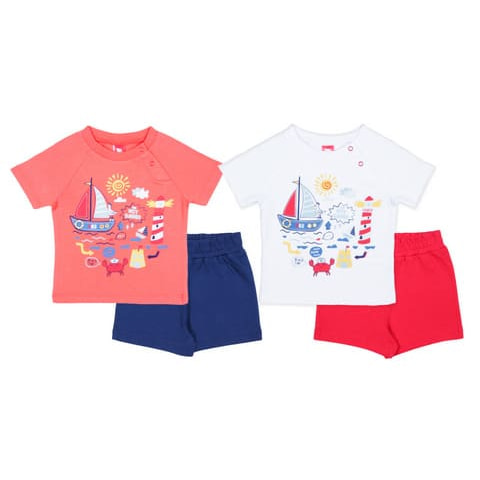 Комплект для мальчика (футболка, шорты) CSB 9791