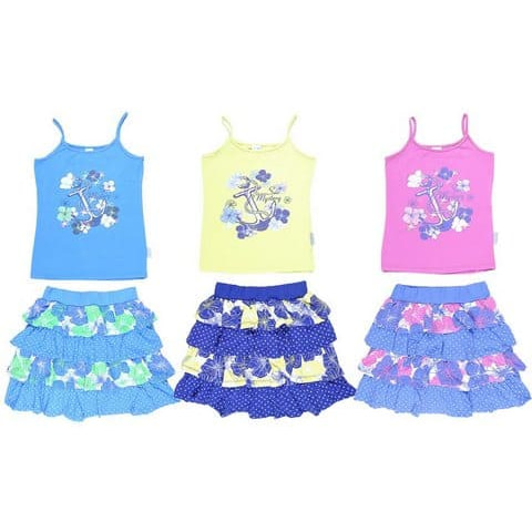 Комплект для девочки (топ, юбка) CSJ 9215