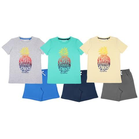 Комплект для мальчика (футболка, шорты) CSJ 9740