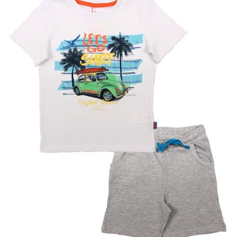 Комплект для мальчика (футболка, шорты) CSK 9633