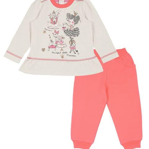Комплект для девочки (джемпер, брюки) CWB 9773