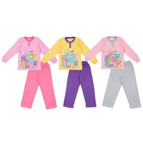 Пижама для девочки CWK 5174