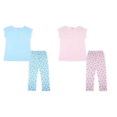 Пижама женская (футболка, брюки)