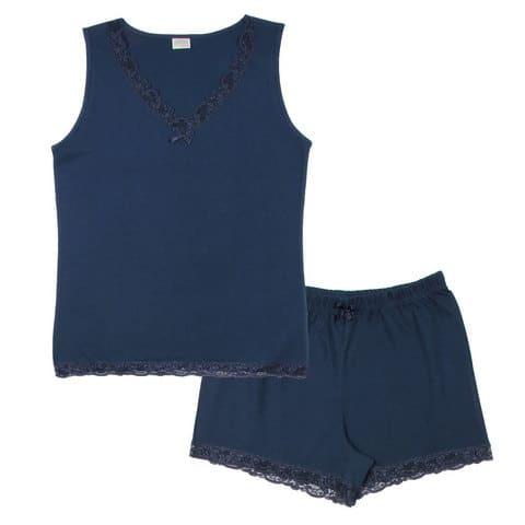 пижама женская (майка, шорты)