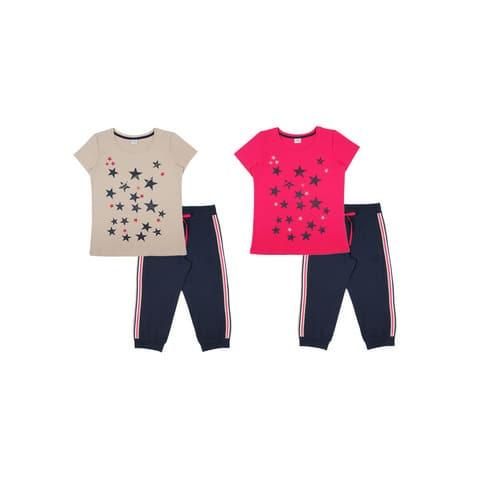 Комплект женский (футболка, бриджи) FS 9146