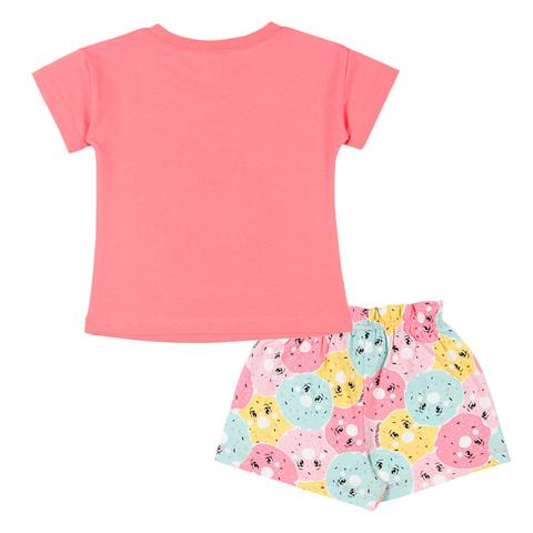 Комплект для девочки (футболка, шорты) CAB 5420