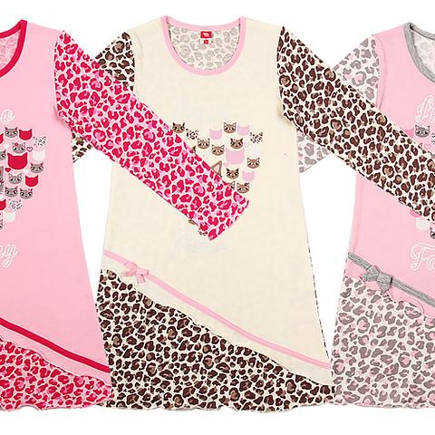 Сорочка ночная для девочки CAK 5253