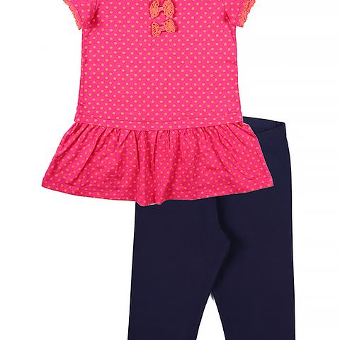 Комплект для девочки (туника, бриджи) CAK 9592