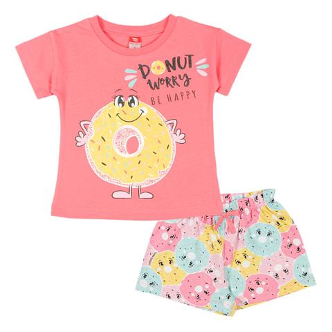 Комплект для девочки (футболка, шорты) CAK 5420
