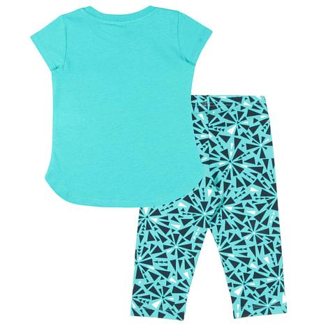 Комплект для девочки (футболка, бриджи) CAK 9878