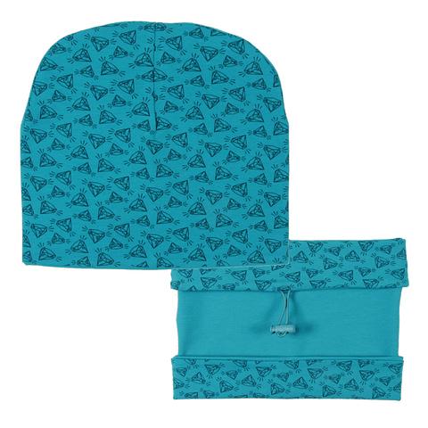 Комплект для девочки (шапка, снуд) CH 8193