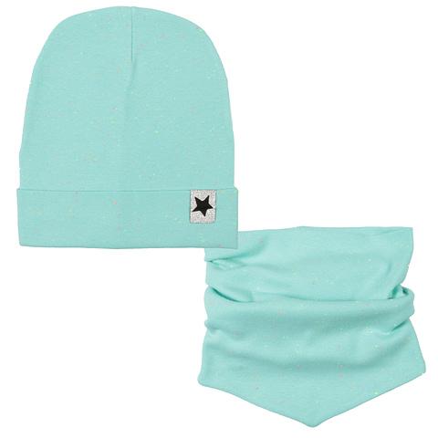 Комплект для девочки (шапка, снуд) CH 8195