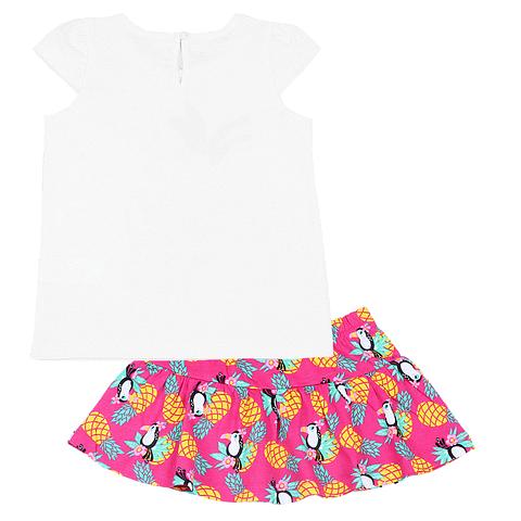 Комплект для девочки (футболка, юбка) CSB 9703