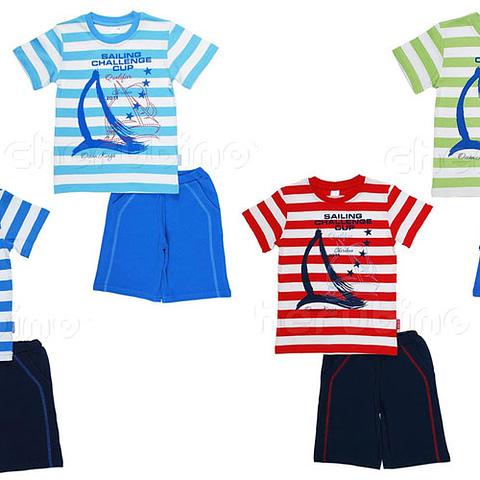 Комплект для мальчика (футболка, шорты) CSK 9029