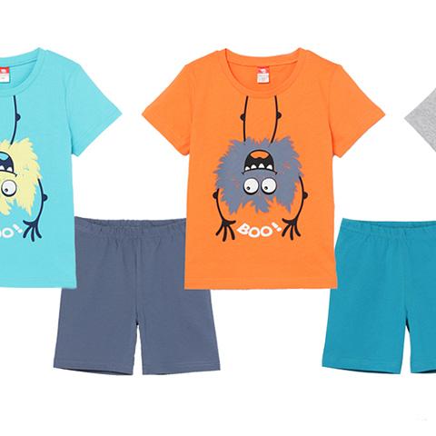 Комплект для мальчика (футболка, шорты) CSKB 50001