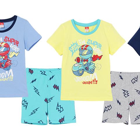 Комплект для мальчика (футболка, шорты) CSKB 50002