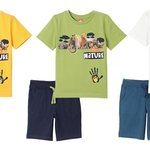 Комплект для мальчика (футболка, шорты) CSKB 90010