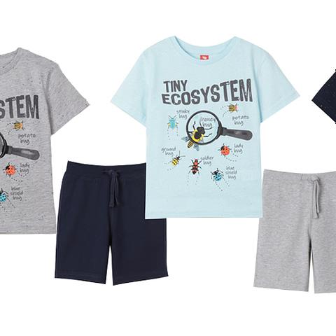 Комплект для мальчика (футболка, шорты) CSKB 90011