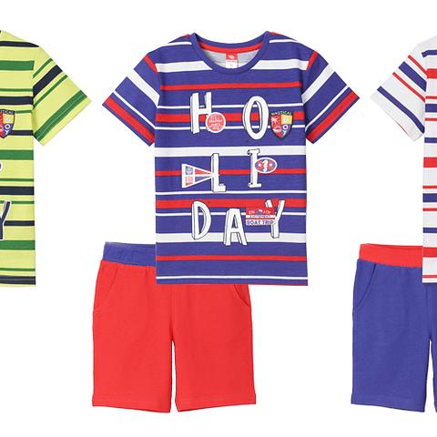 Комплект для мальчика (футболка, шорты) CSKB 90020