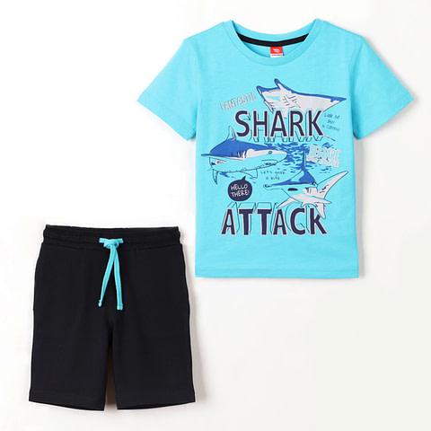 Комплект для мальчика (футболка, шорты) CSKB 90012