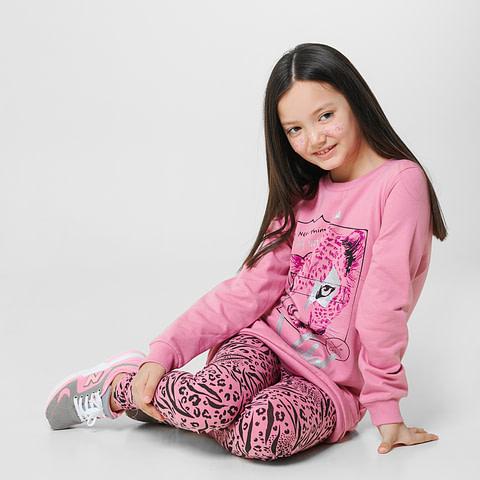 """Платье модель """"туника"""" для девочки CWJ 62553"""