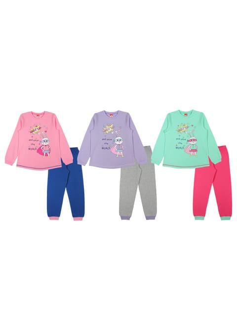 Пижама для девочки CAK 5383
