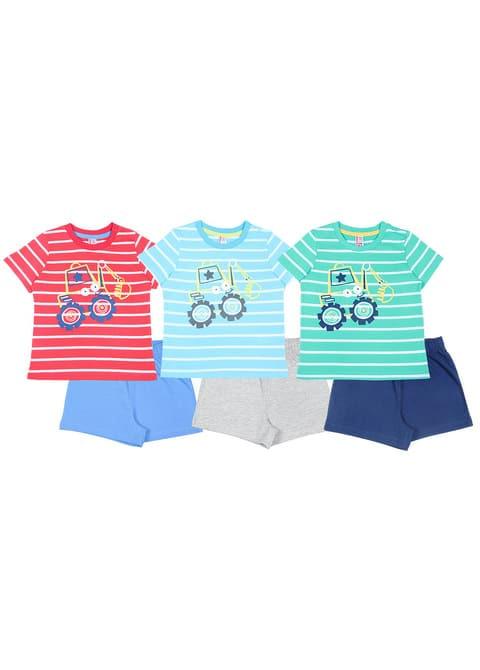 Комплект для мальчика (футболка, шорты) CSN 9701