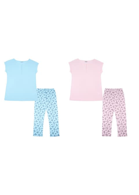 Пижама женская (футболка, брюки) FS 5081